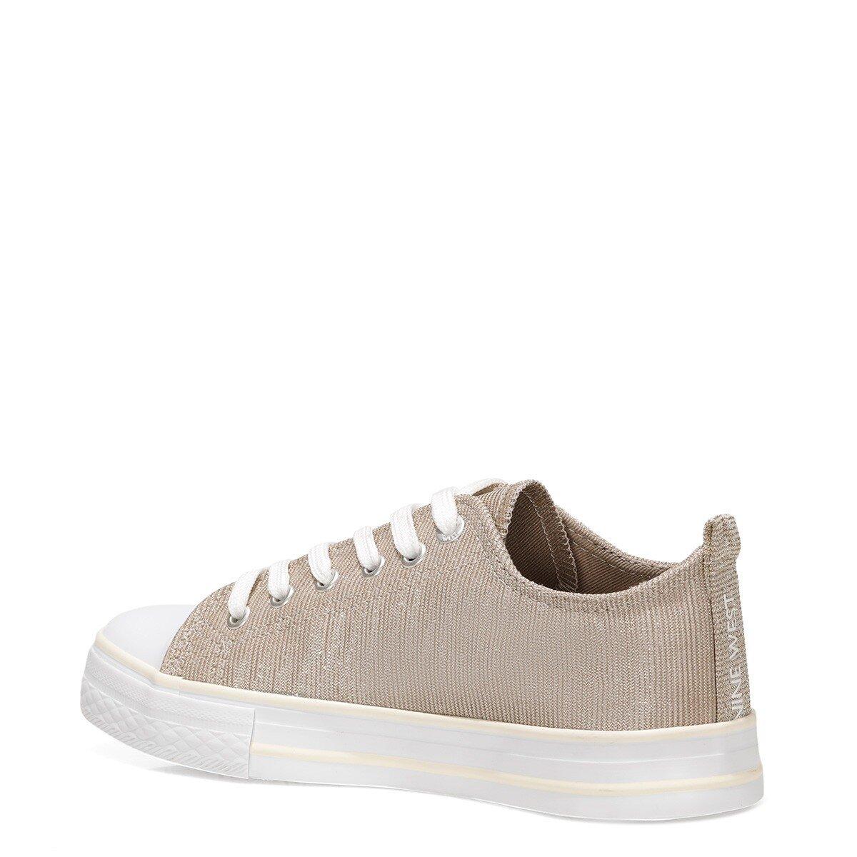 CONFY 1FX Altın Kadın Havuz Taban Sneaker