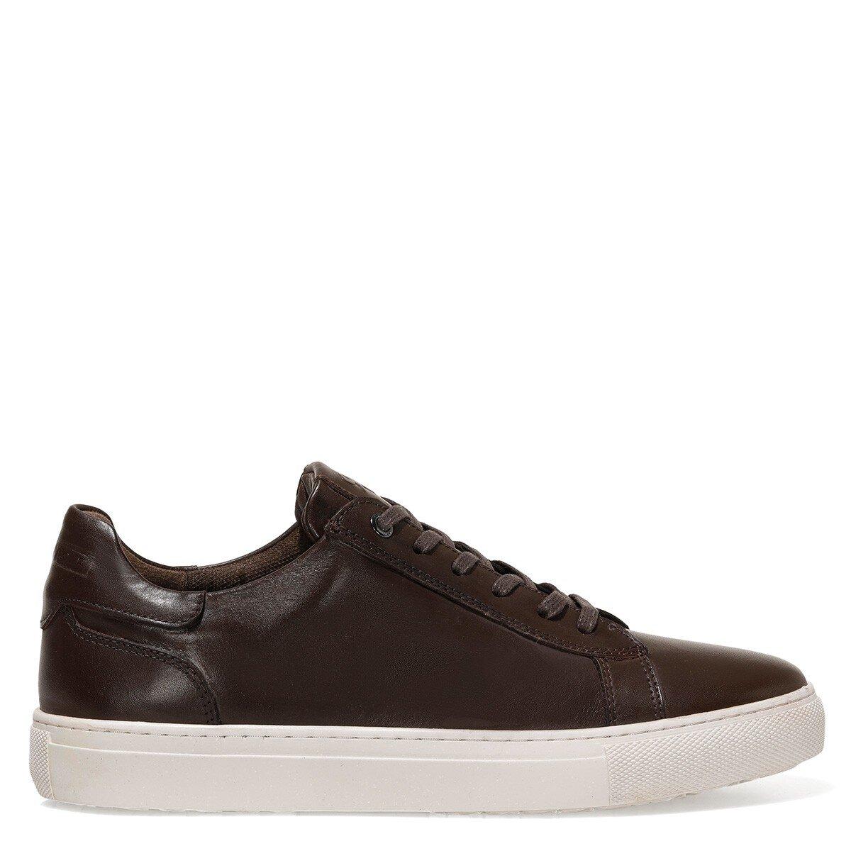 LANE 1FX Kahverengi Erkek Kalın Tabanlı Sneaker
