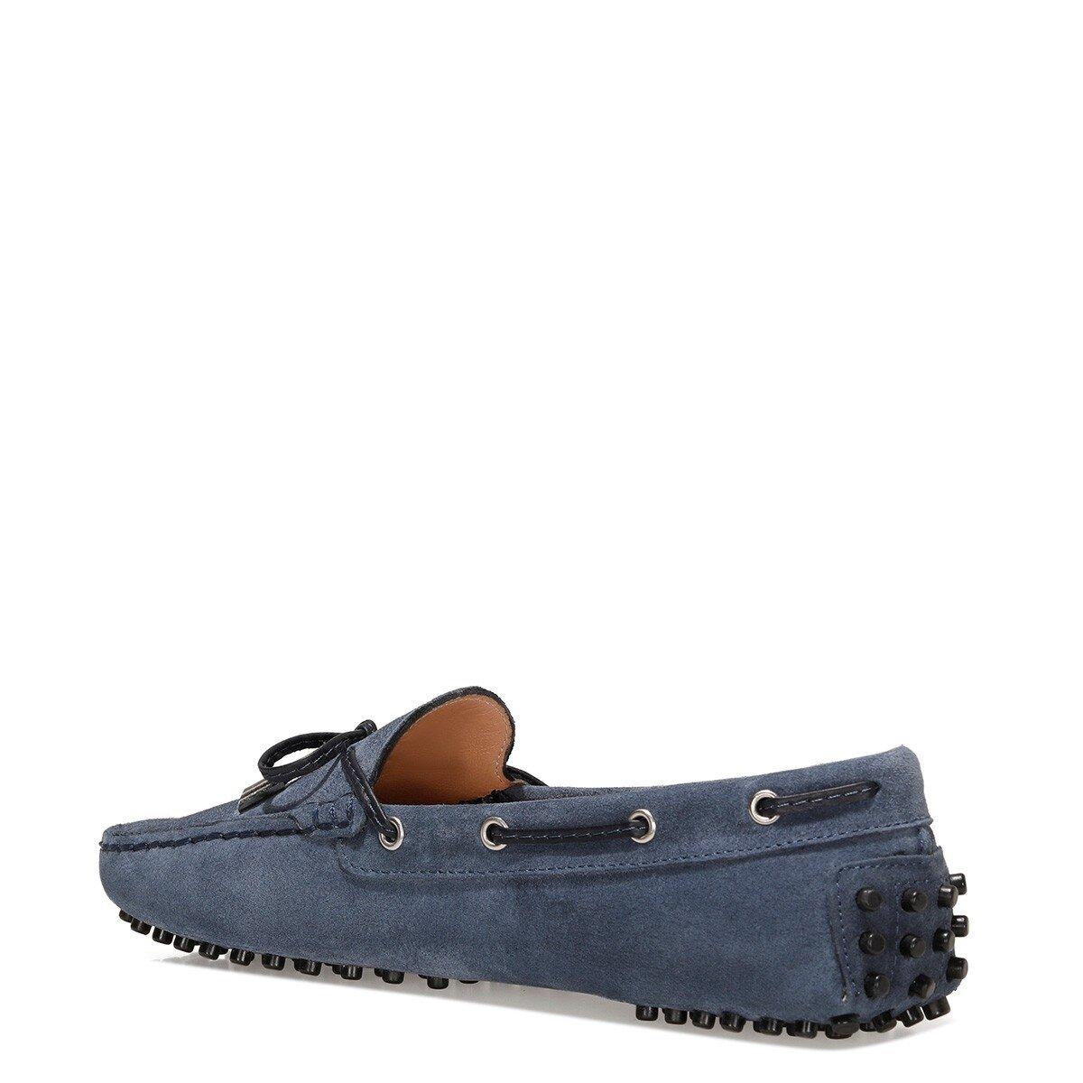 NEWHOLT2 1FX Lacivert Kadın Loafer Ayakkabı