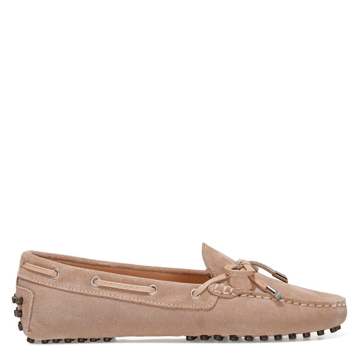 NEWHOLT2 1FX Camel Kadın Loafer Ayakkabı