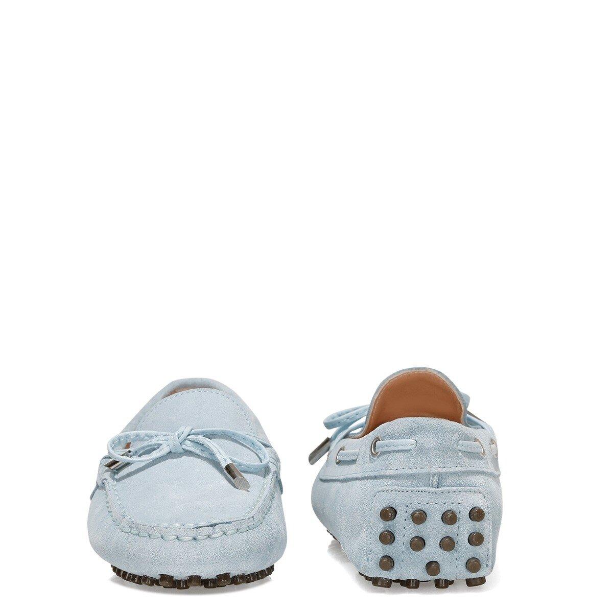 NEWHOLT2 1FX Mavi Kadın Loafer Ayakkabı