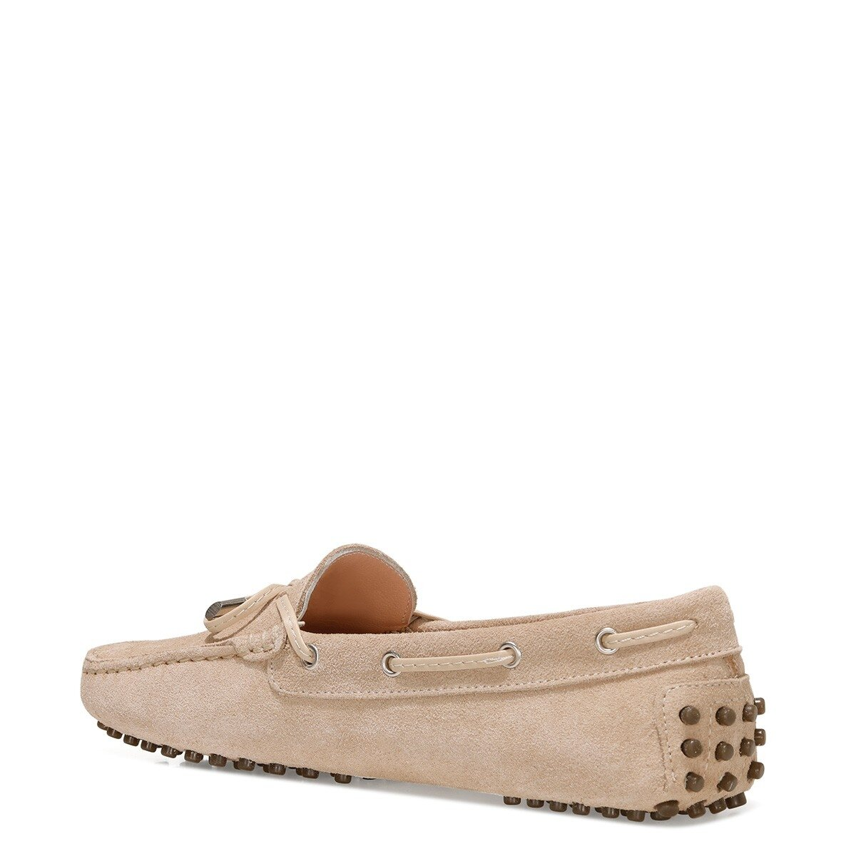 NEWHOLT2 1FX Kum Rengi Kadın Loafer Ayakkabı