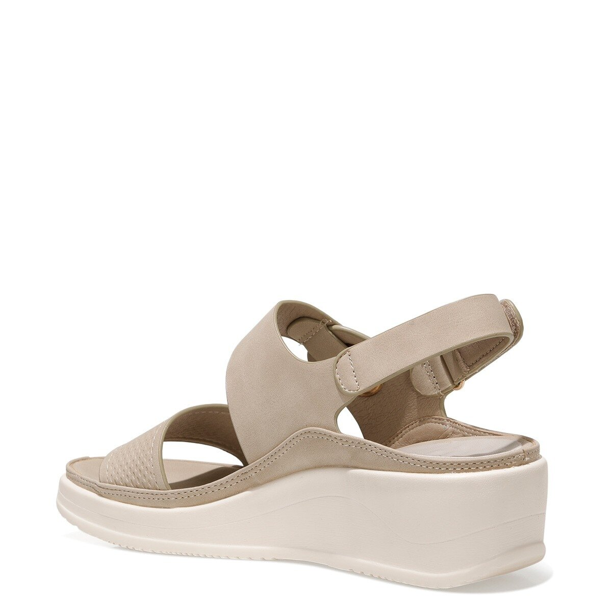 ACADDA 1FX Bej Kadın Sandalet