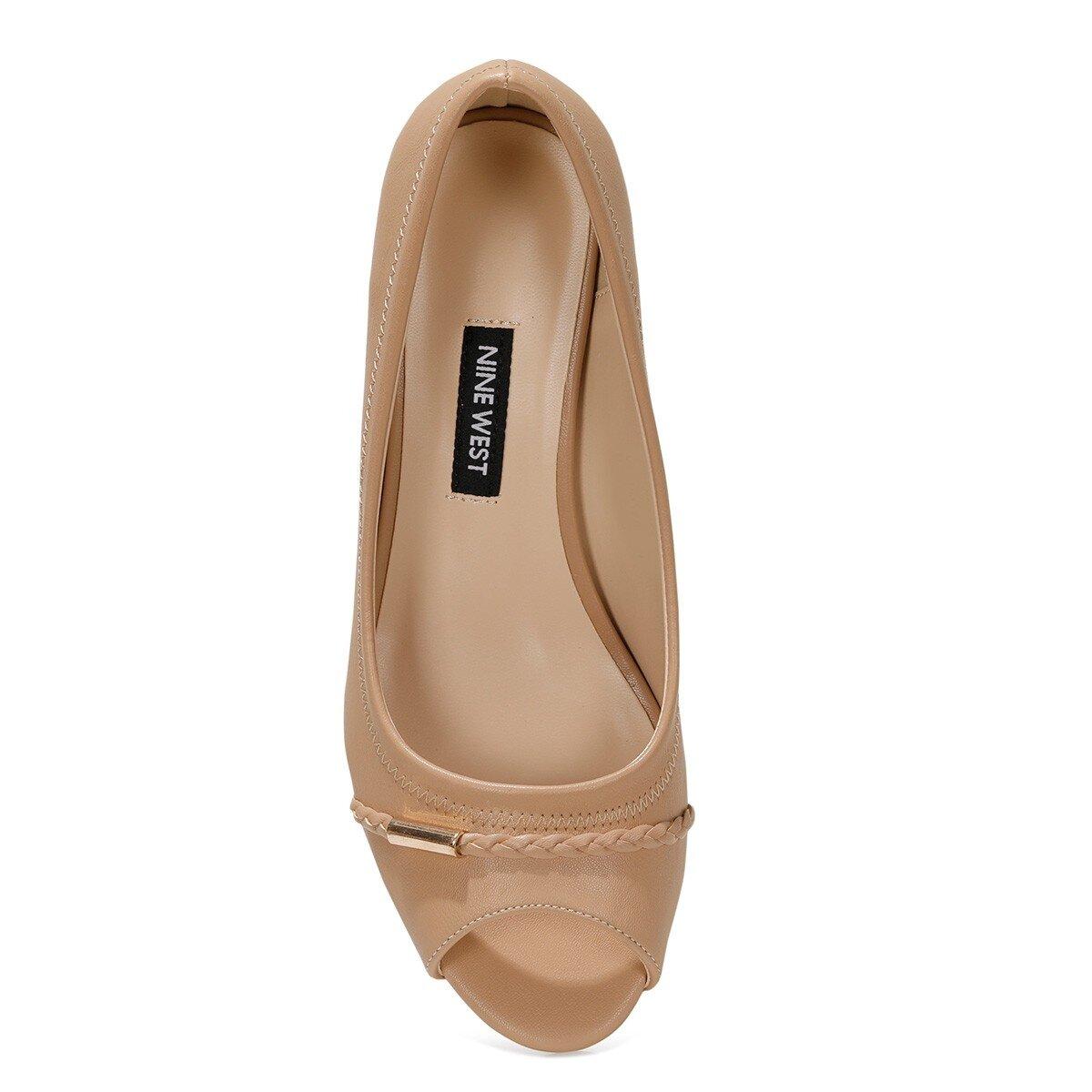 BIRENNA 1FX NUDE Kadın Dolgu Topuklu Ayakkabı