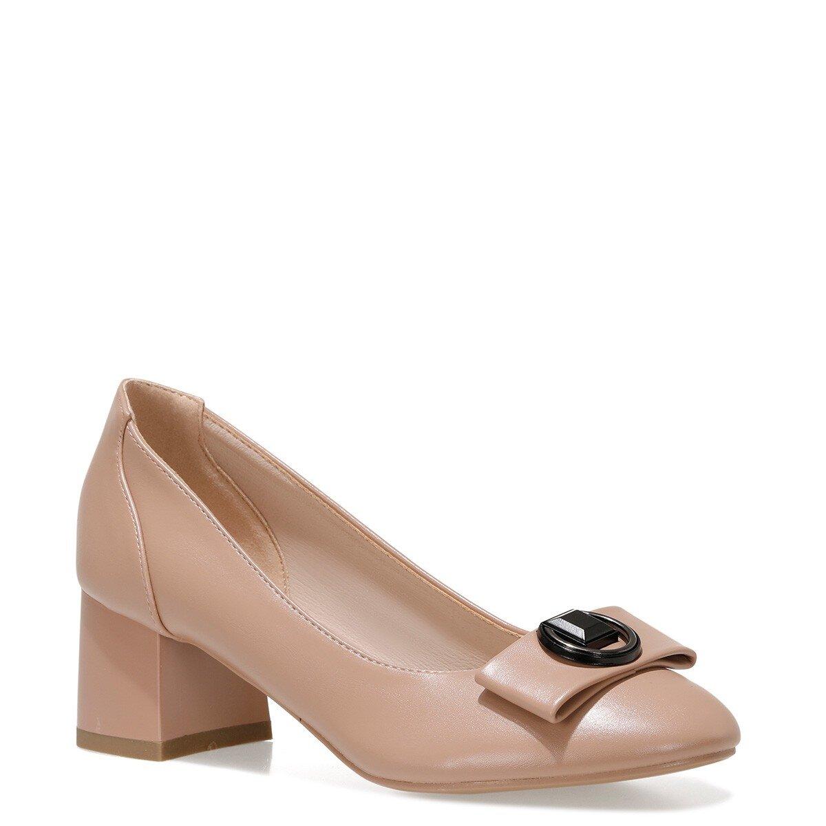 JODEE 1FX Pudra Kadın Topuklu Ayakkabı