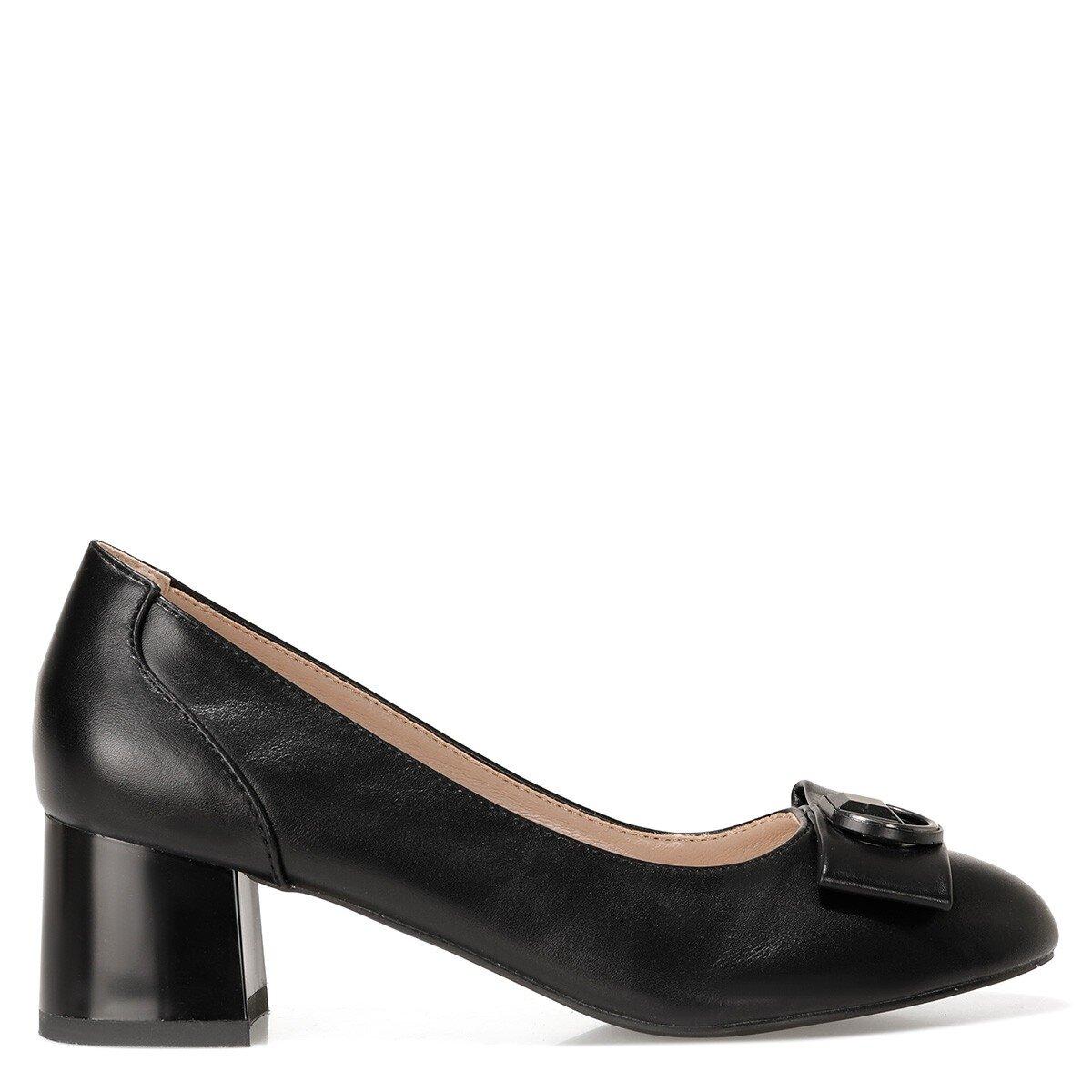 JODEE 1FX Siyah Kadın Topuklu Ayakkabı