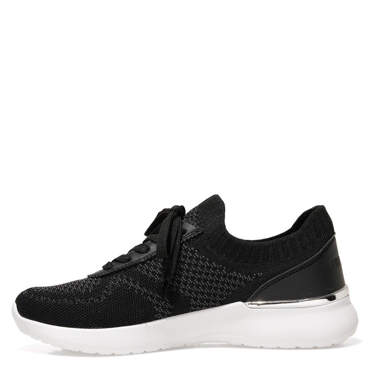 MIESSE 1FX Siyah Kadın Sneaker