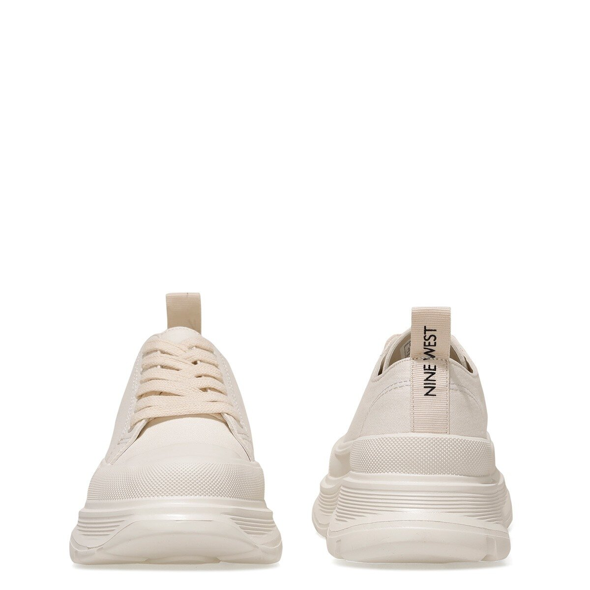 MOREN 1FX Krem Kadın Spor Ayakkabı