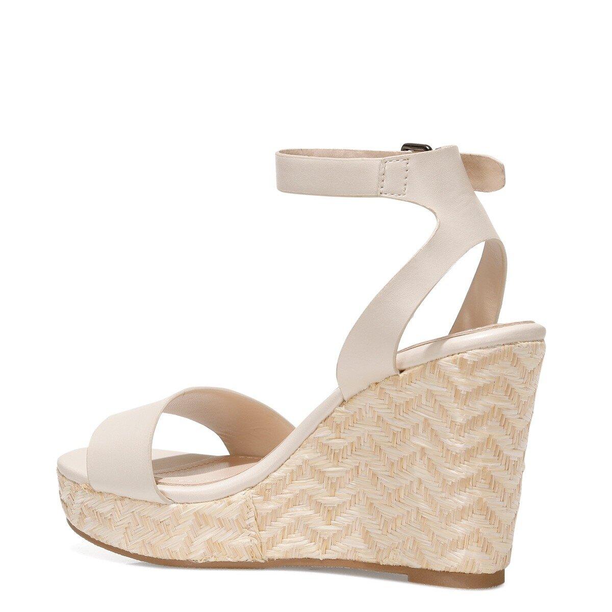 OBASA 1FX Beyaz Kadın Sandalet
