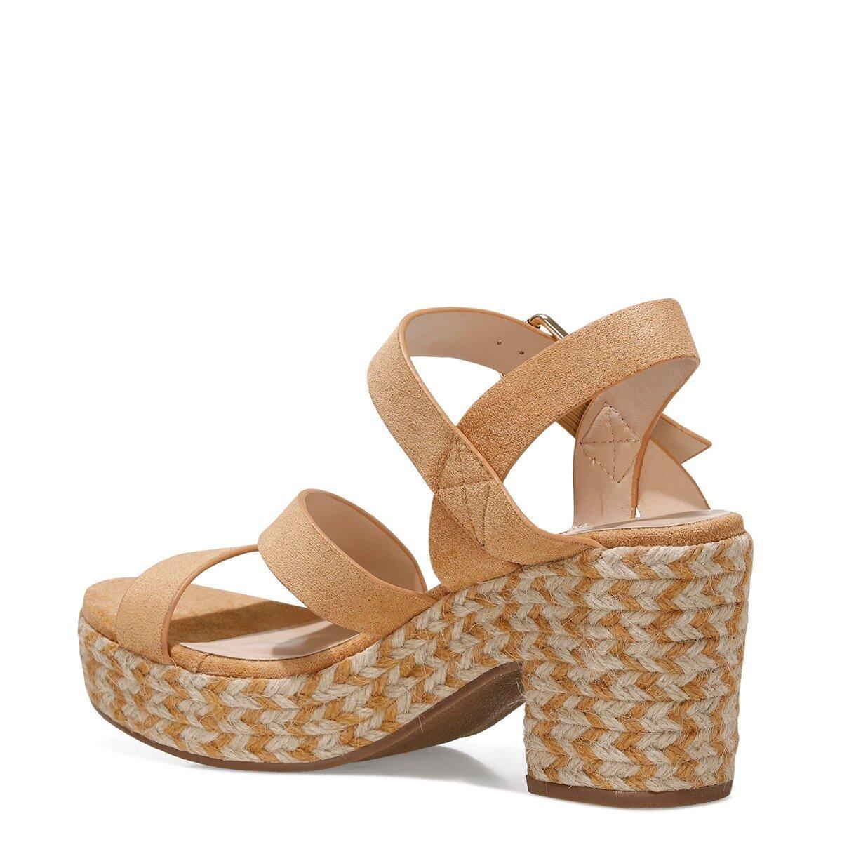 WEASANN 1FX Camel Kadın Sandalet