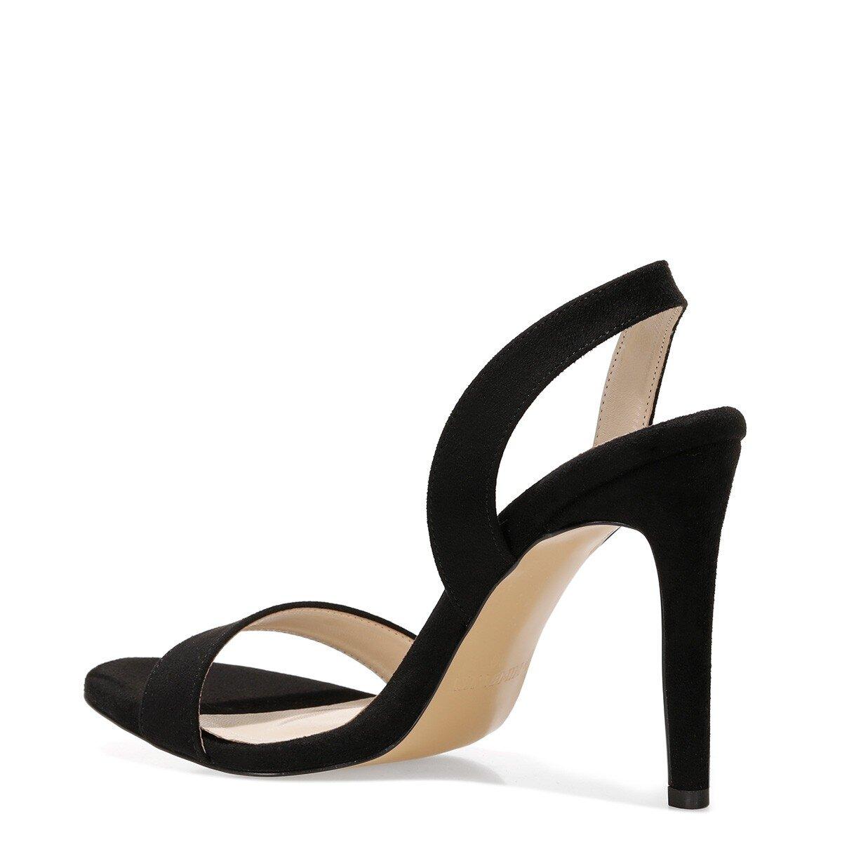 SEMINNA 1FX Siyah Kadın Sandalet