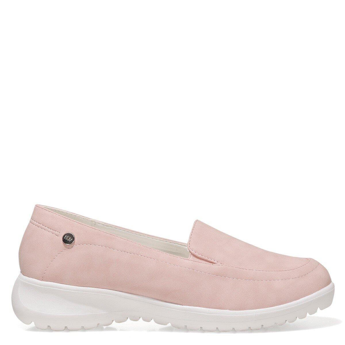 ISLA 1FX Pembe Kadın Loafer Ayakkabı