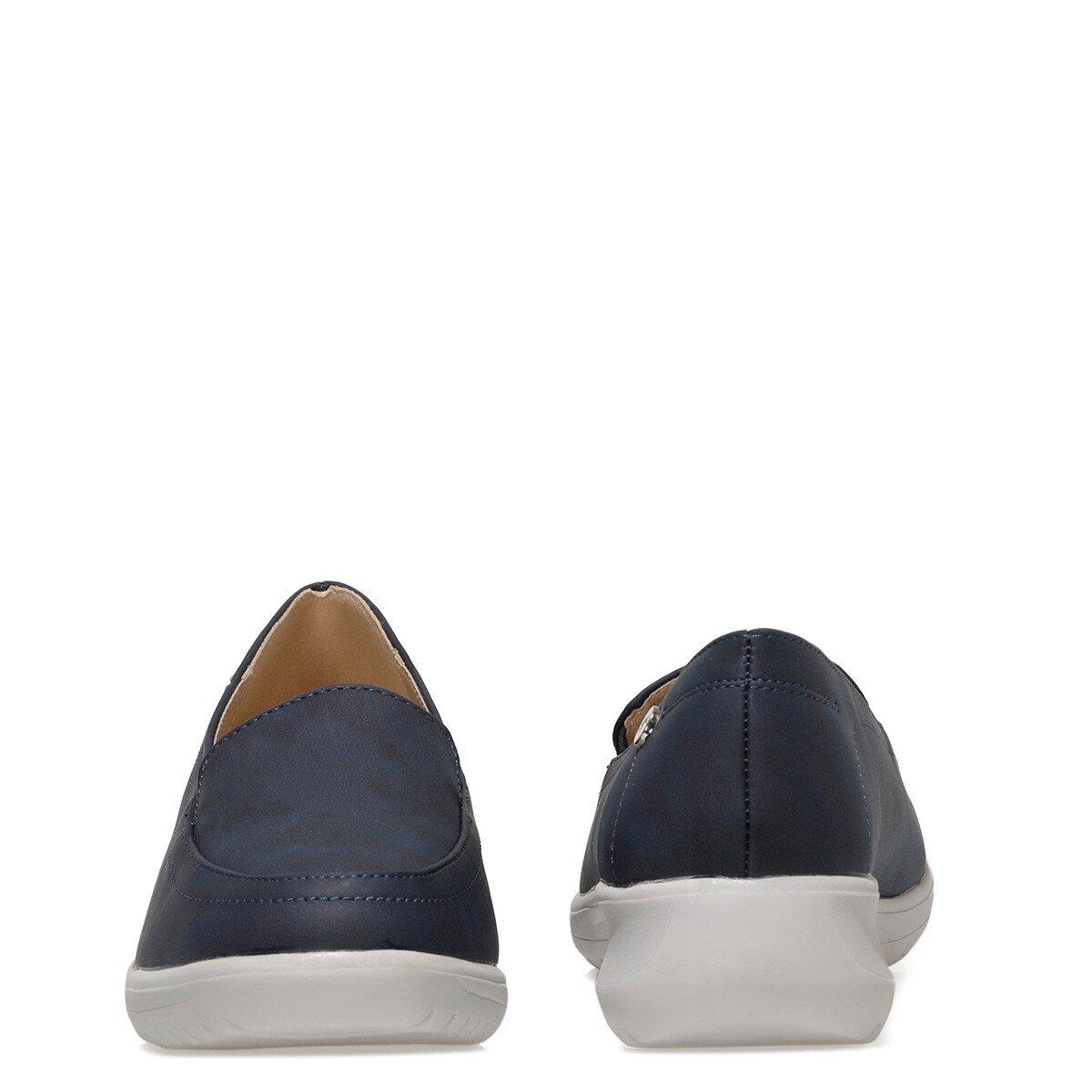 ISLA 1FX Lacivert Kadın Loafer Ayakkabı