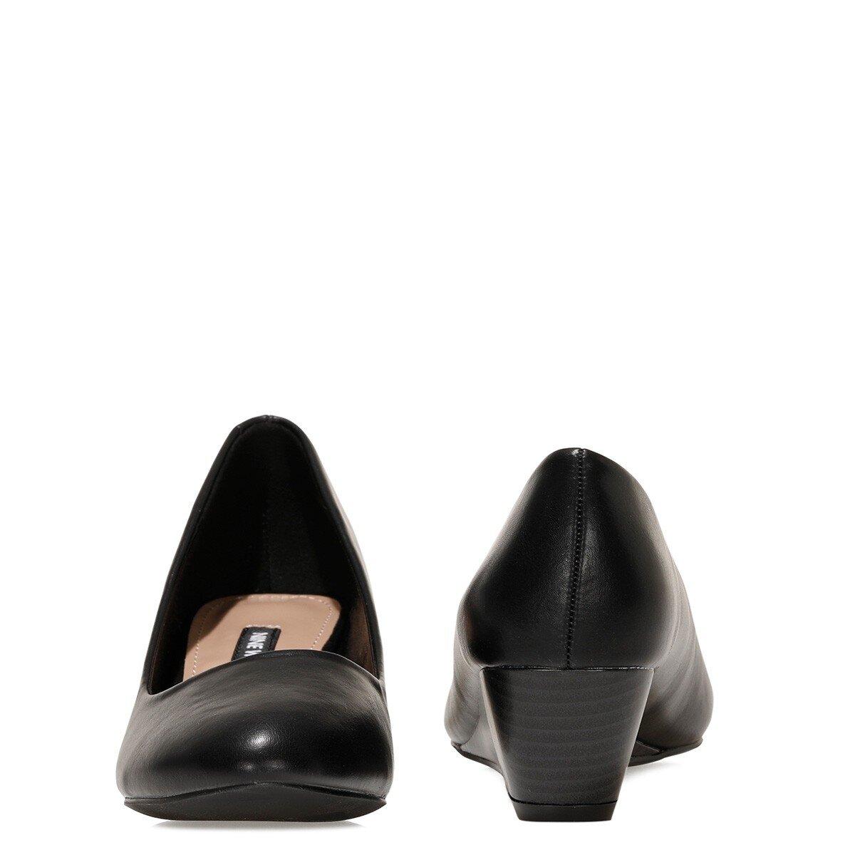 LICLA2 1FX Siyah Kadın Dolgu Topuklu Ayakkabı