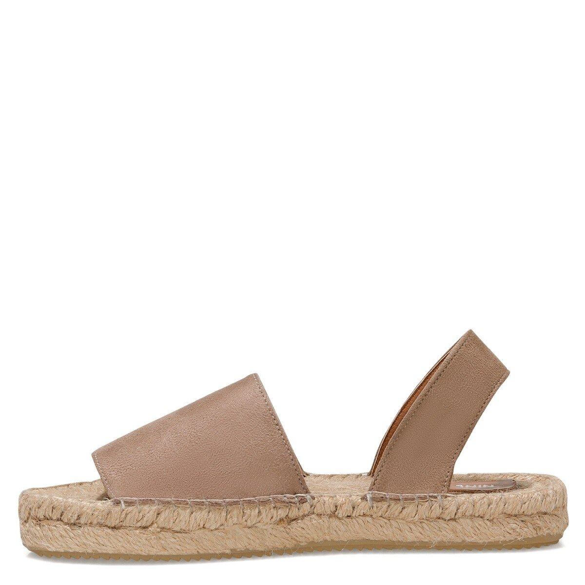 RILLA 1FX Vizon Kadın Espadril Ayakkabı