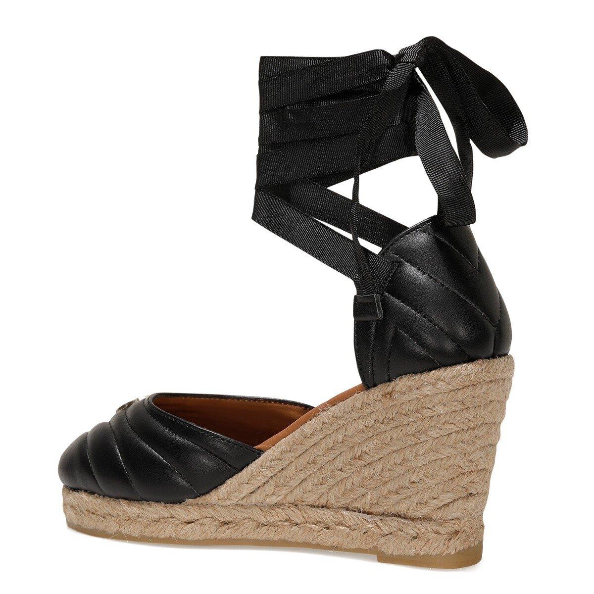 MIROSLOVA 1FX Siyah Kadın Espadril Ayakkabı