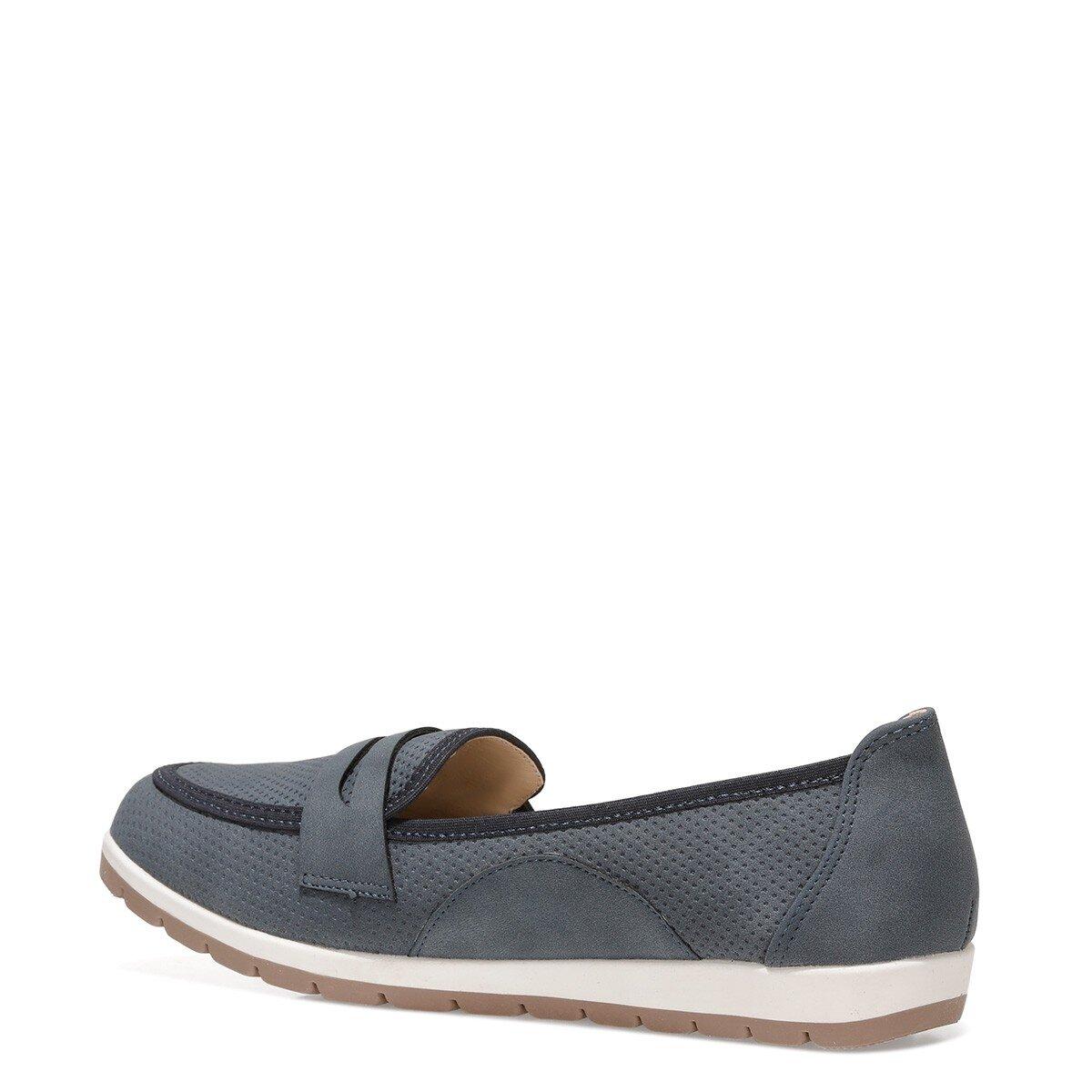 TAMMY 1FX Lacivert Kadın Loafer Ayakkabı