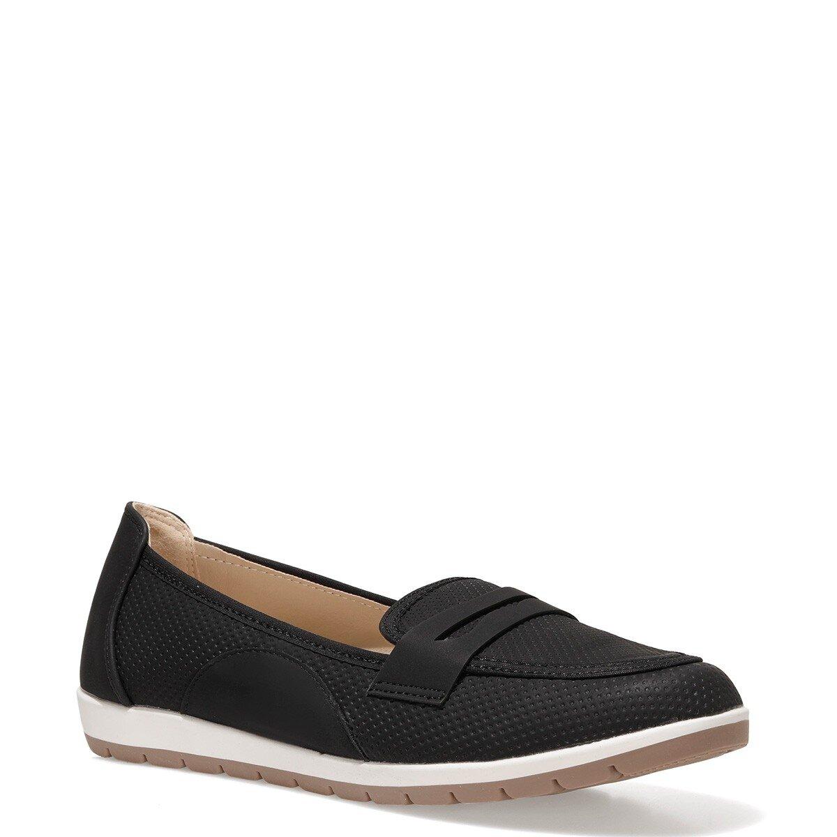 TAMMY 1FX Siyah Kadın Loafer Ayakkabı