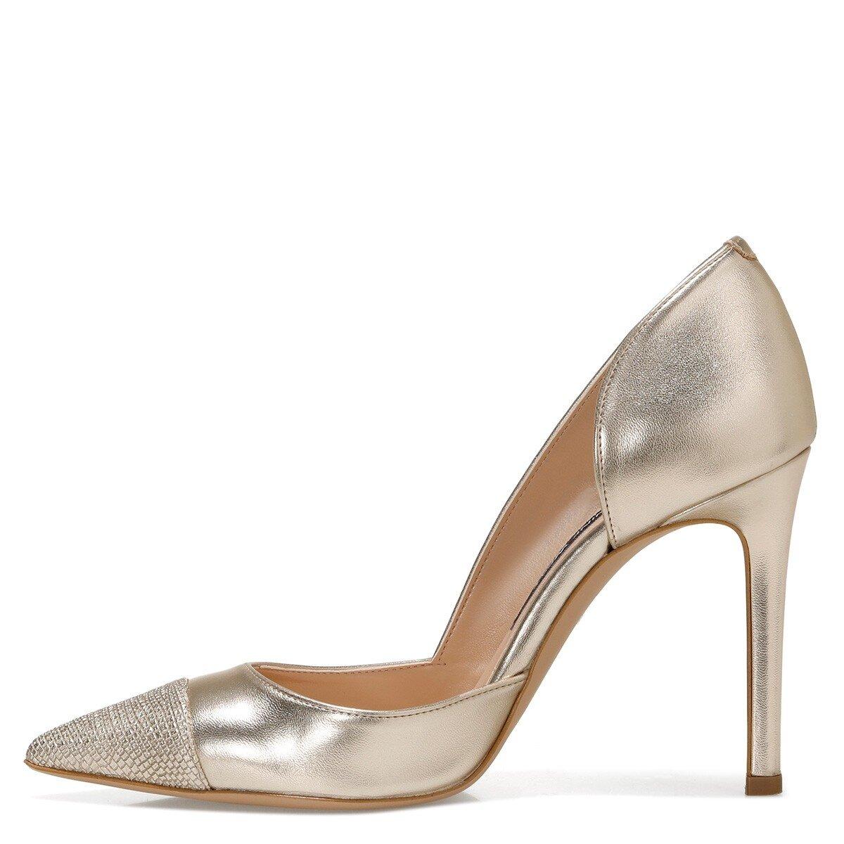 MERNANI 1FX Altın Kadın Gova Ayakkabı