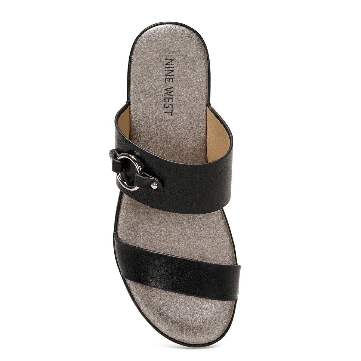 DAMONICA 1FX Siyah Kadın Dolgu Topuk Terlik