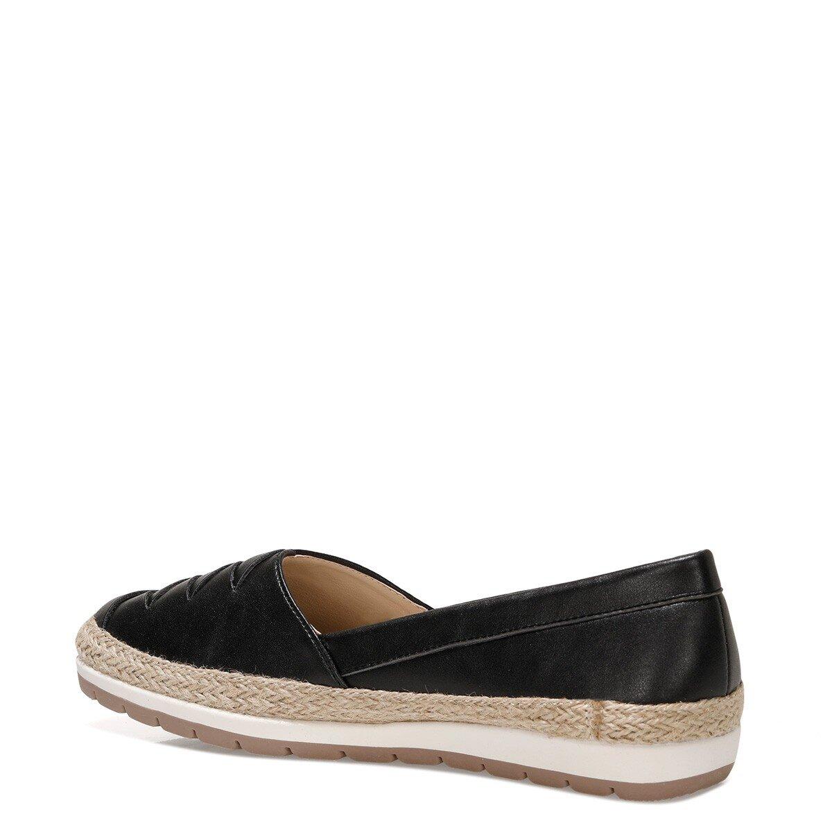 ABALINIEL 1FX Siyah Kadın Slip On Ayakkabı