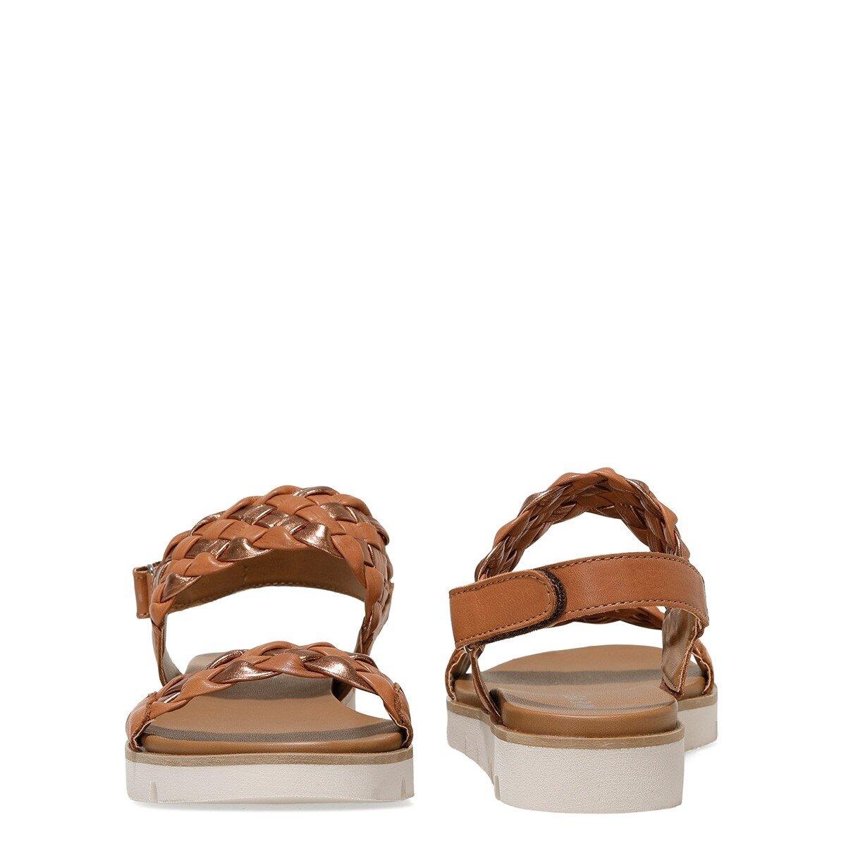 GIELA 1FX Taba Kadın Sandalet