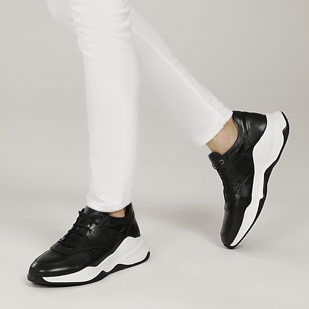ROSTEK 1FX Siyah Erkek Sneaker