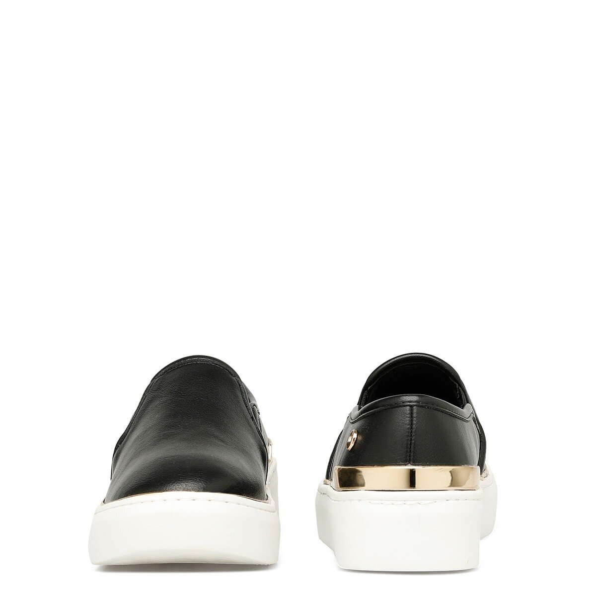 PIOMBO 1FX Siyah Kadın Slip On Ayakkabı