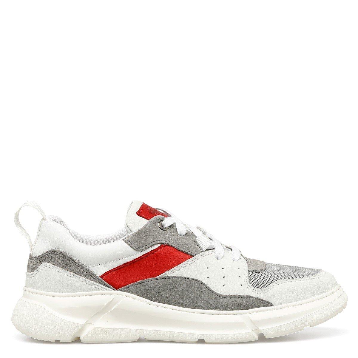 PONKA 1FX Beyaz Erkek Spor Ayakkabı