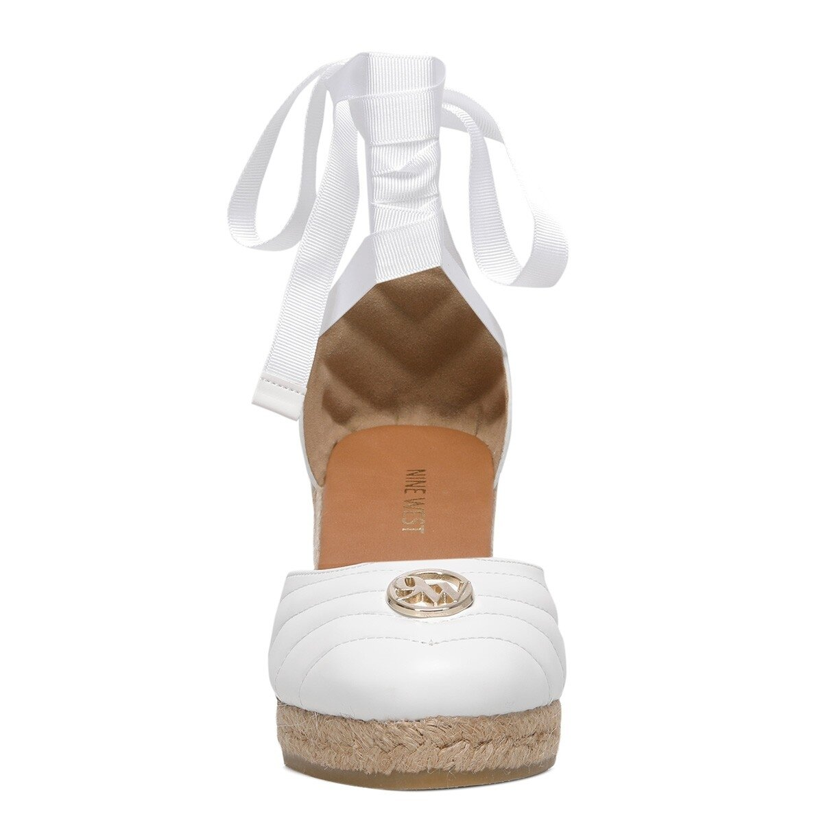 MIROSLOVA 1FX Beyaz Kadın Espadril Ayakkabı