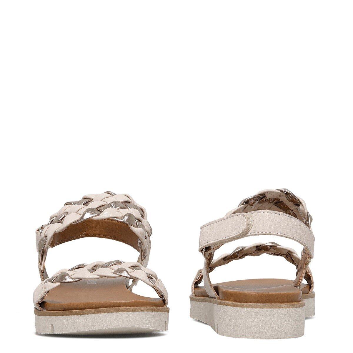 GIELA 1FX Bej Kadın Sandalet