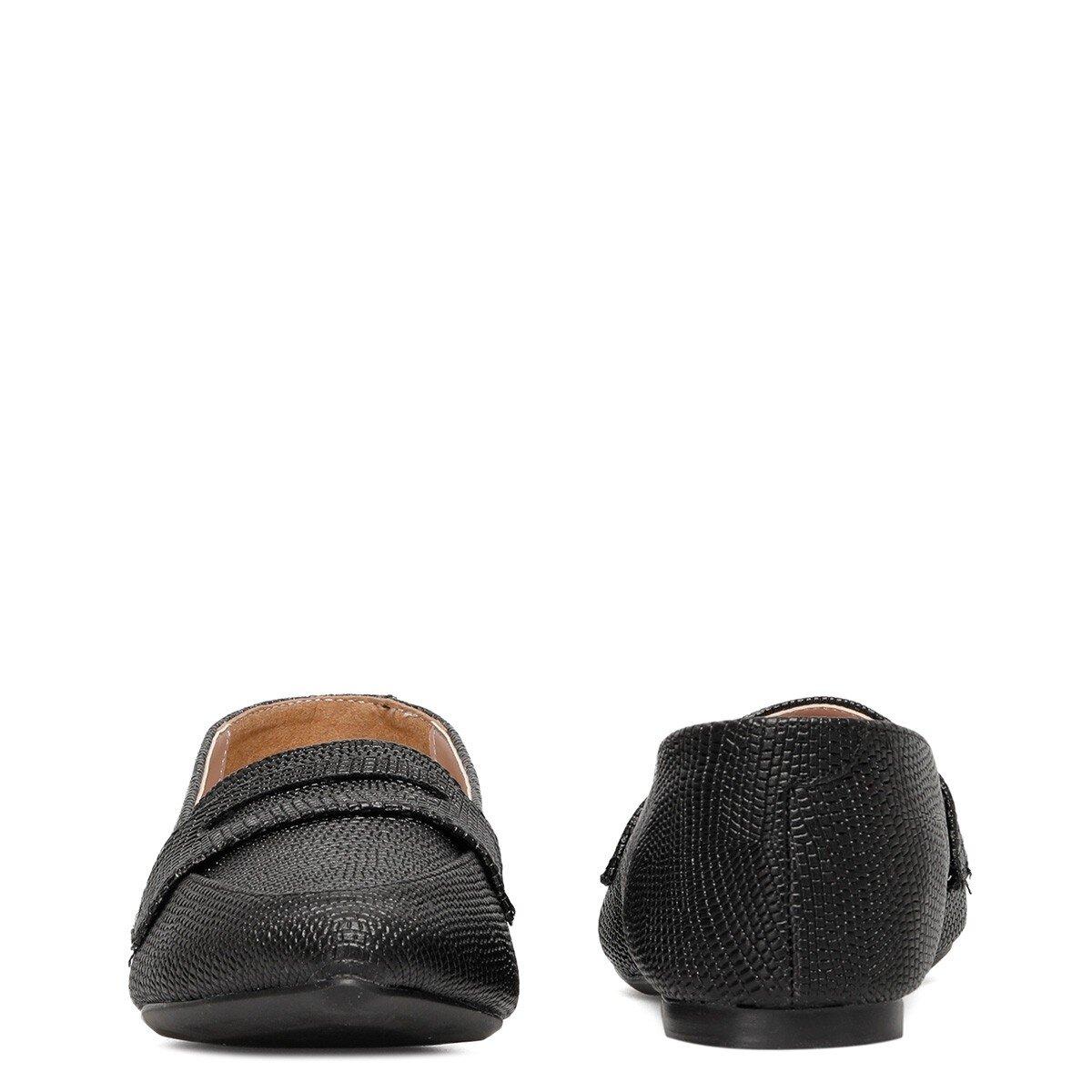HANNINA 1FX Siyah Kadın Loafer