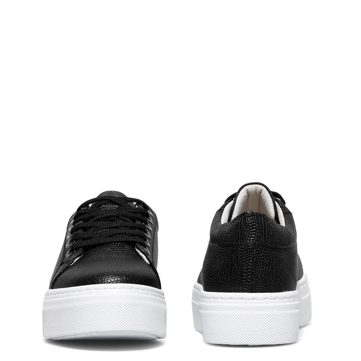 YUMARE 1FX Siyah Kadın Sneaker