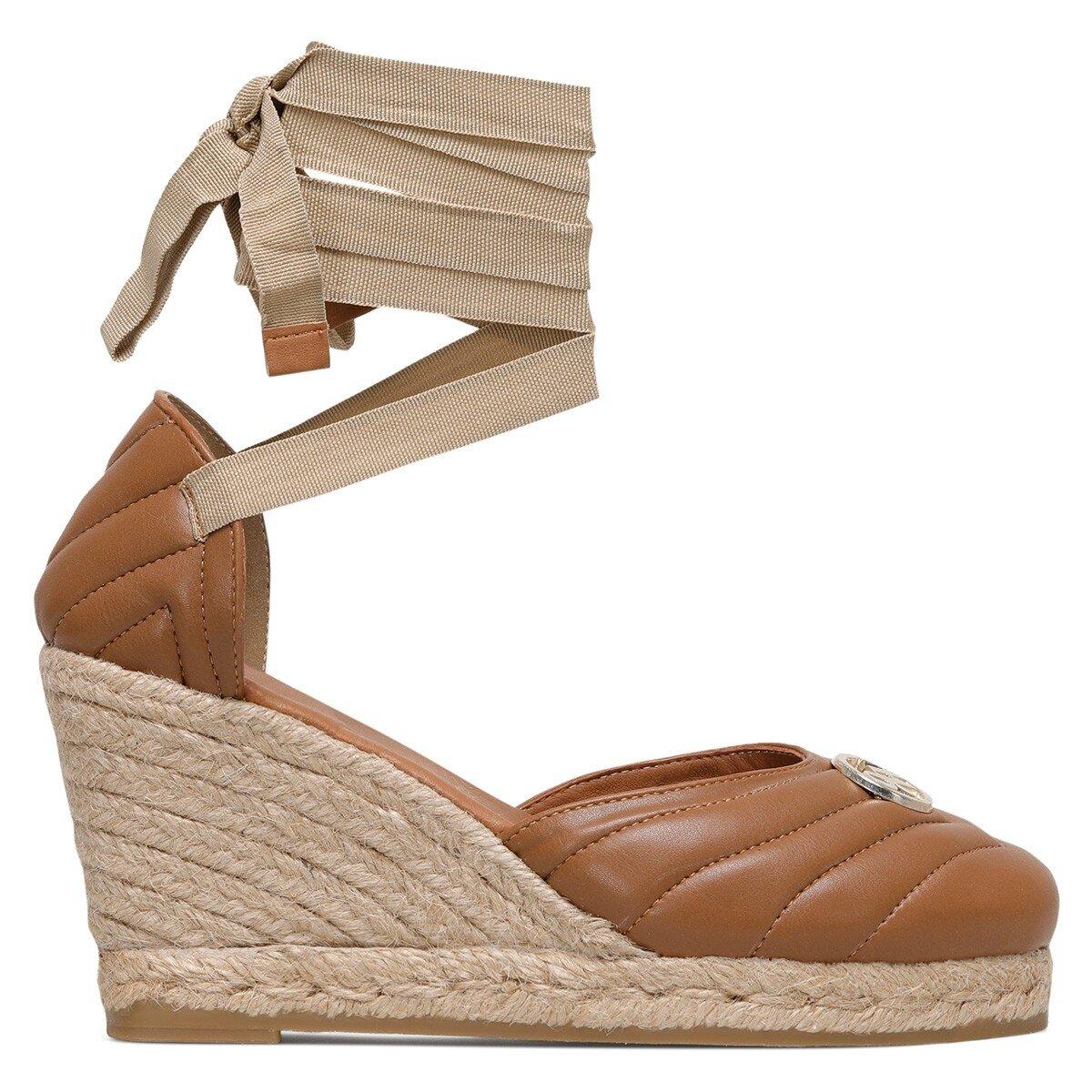 MIROSLOVA 1FX Taba Kadın Espadril Ayakkabı