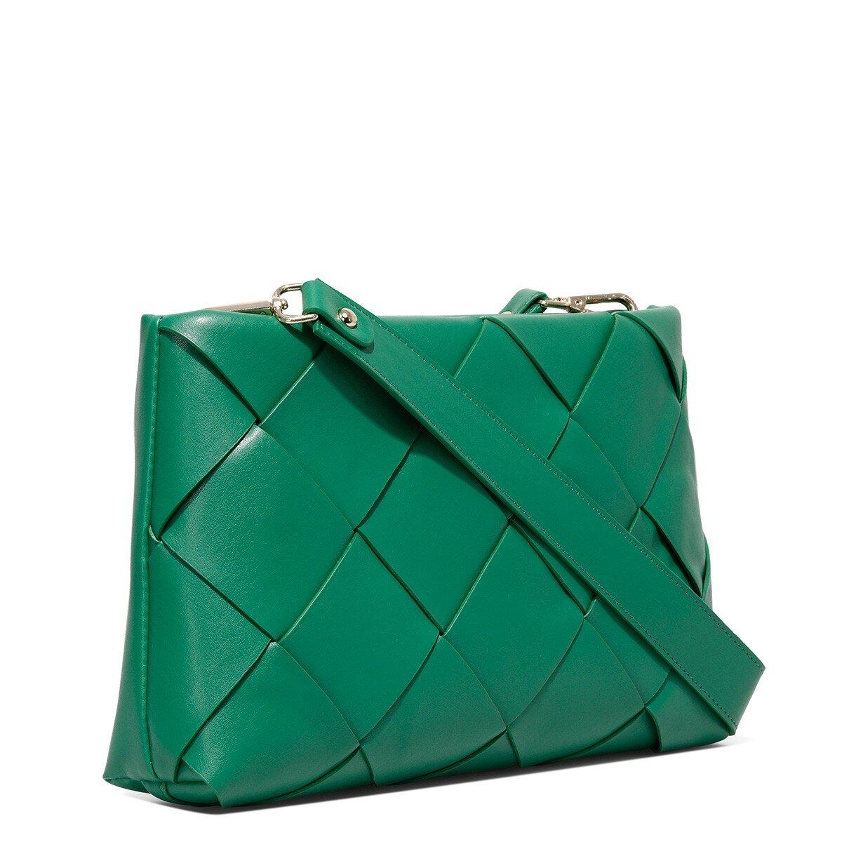 ALBANY 1FX Yeşil Kadın Clutch