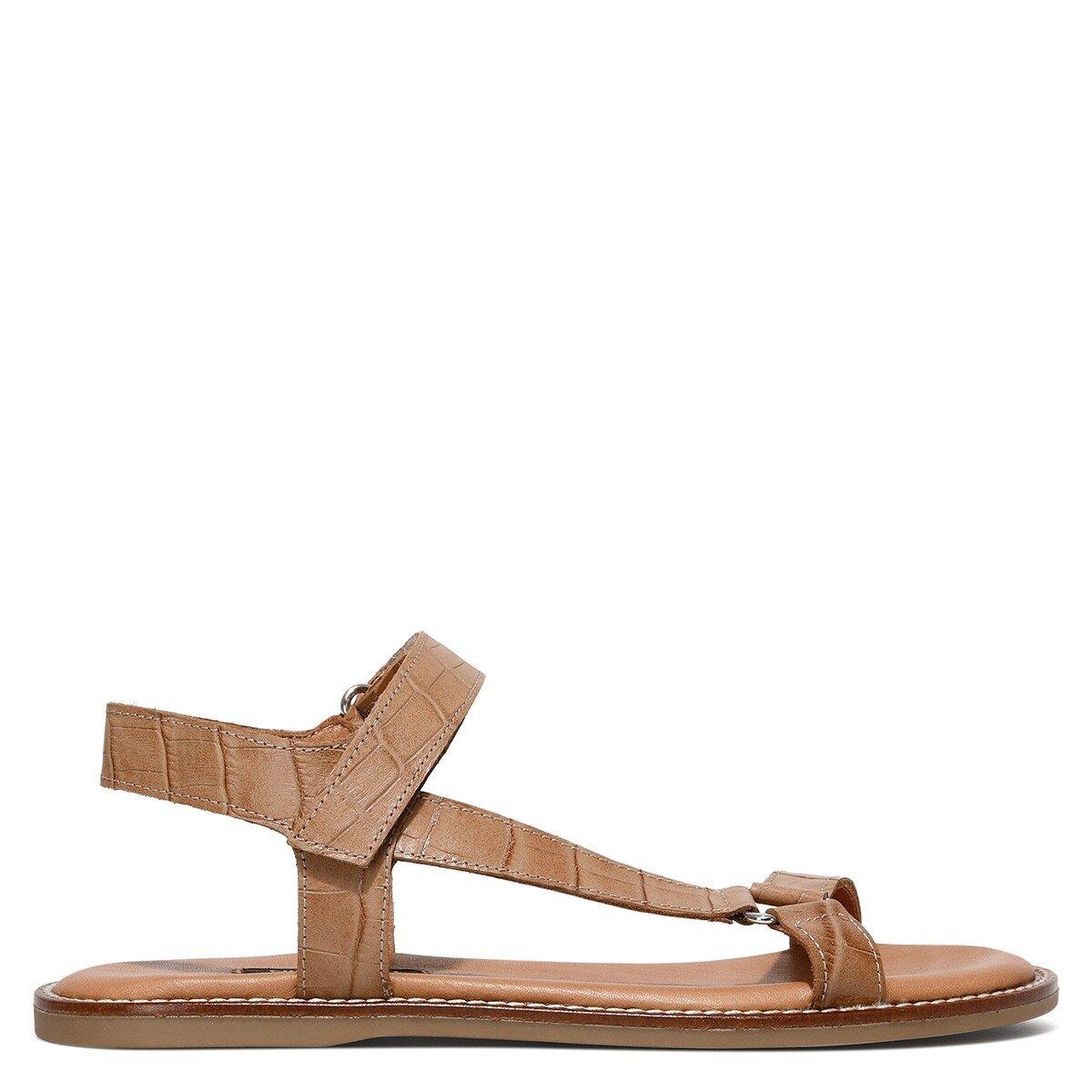 SANDA 1FX Bej Kadın Sandalet