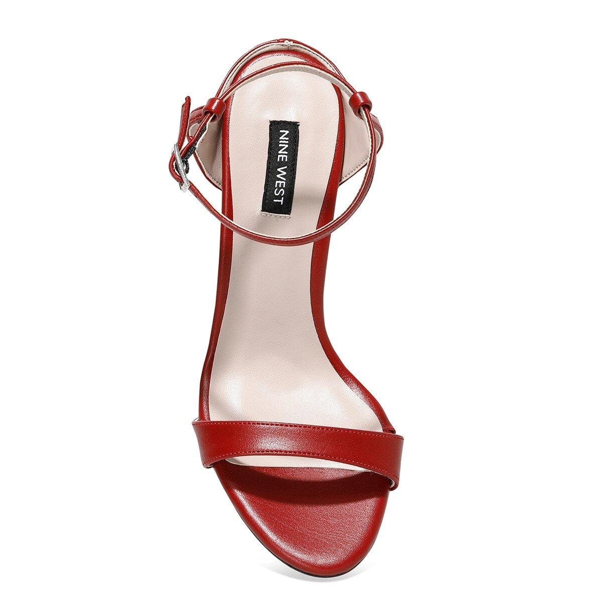 HELLEMA 1FX Kırmızı Kadın Topuklu Sandalet