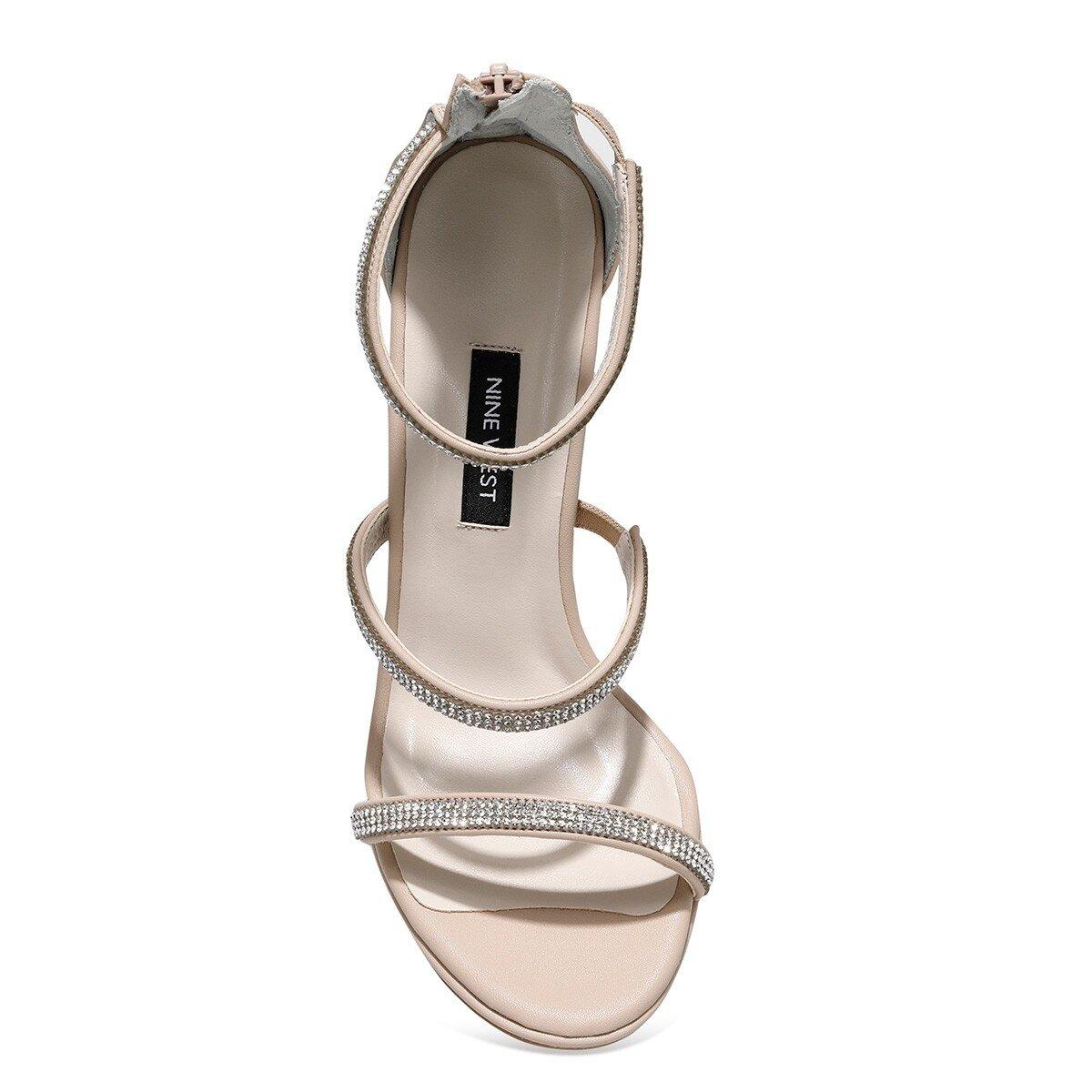 FEMINNA 1FX NUDE Kadın Topuklu Ayakkabı