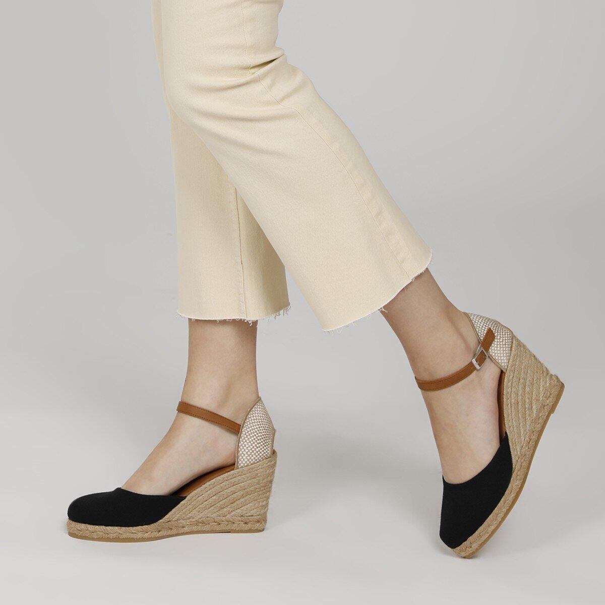 ARTEMISIA 1FX Taba Kadın Dolgu Topuk Sandalet