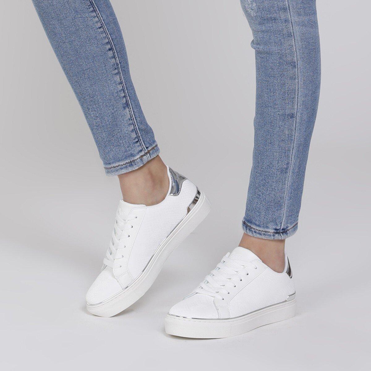 BEGANA 1FX Beyaz Kadın Spor Ayakkabı