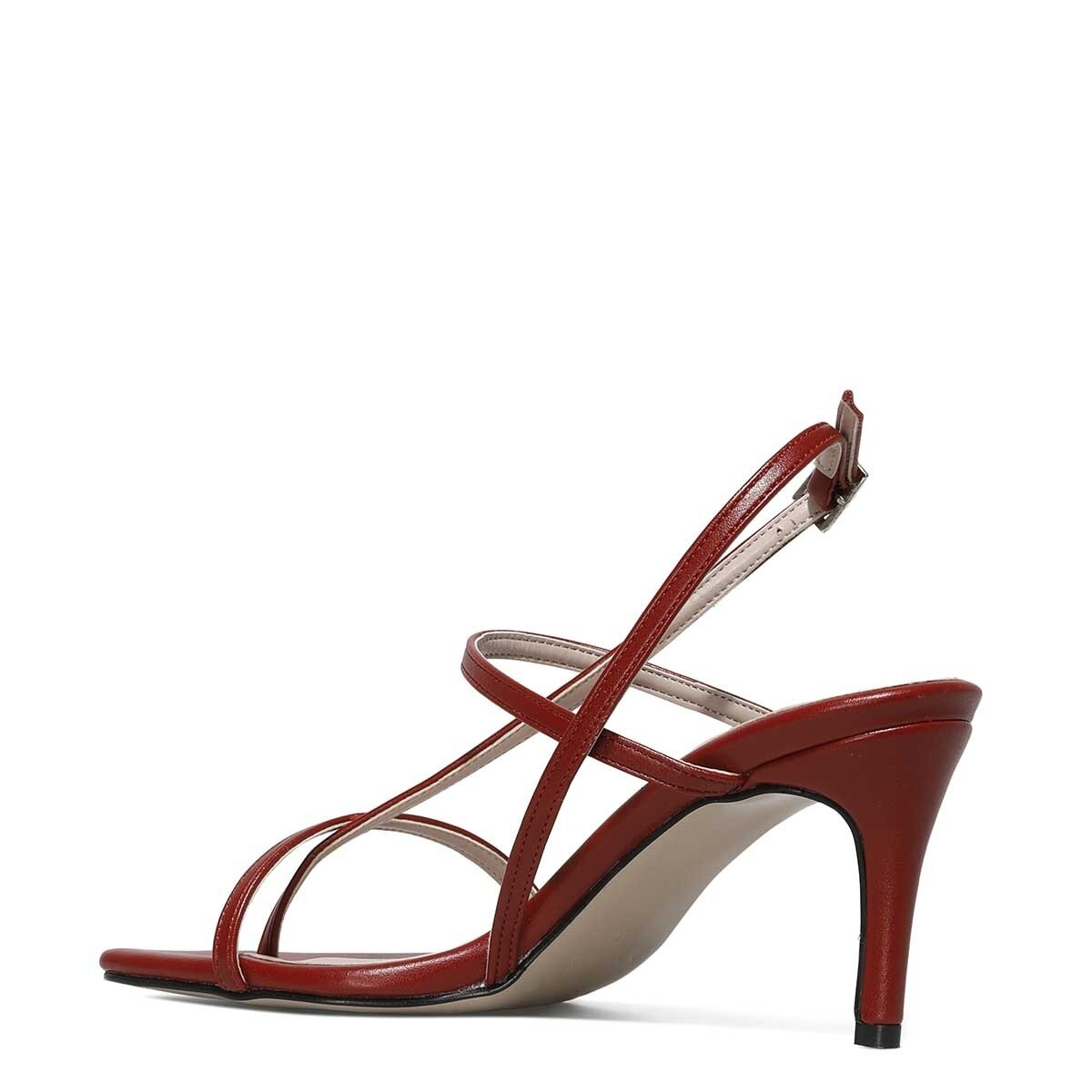 HEA 1FX Kırmızı Kadın Topuklu Sandalet