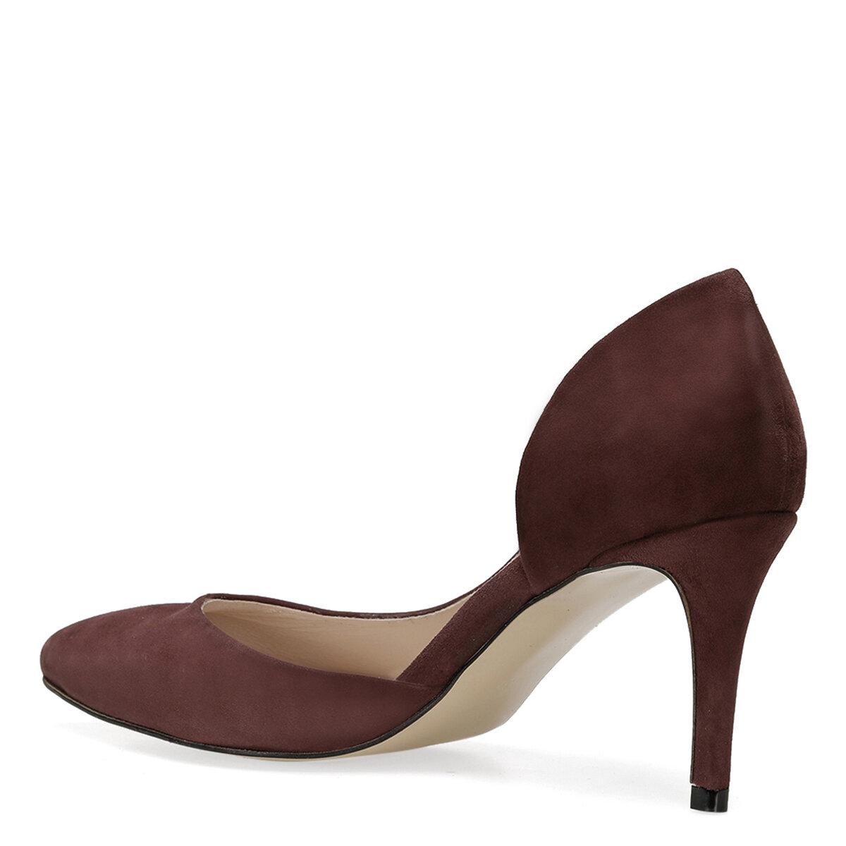 TIKKA Bordo Kadın Topuklu Ayakkabı