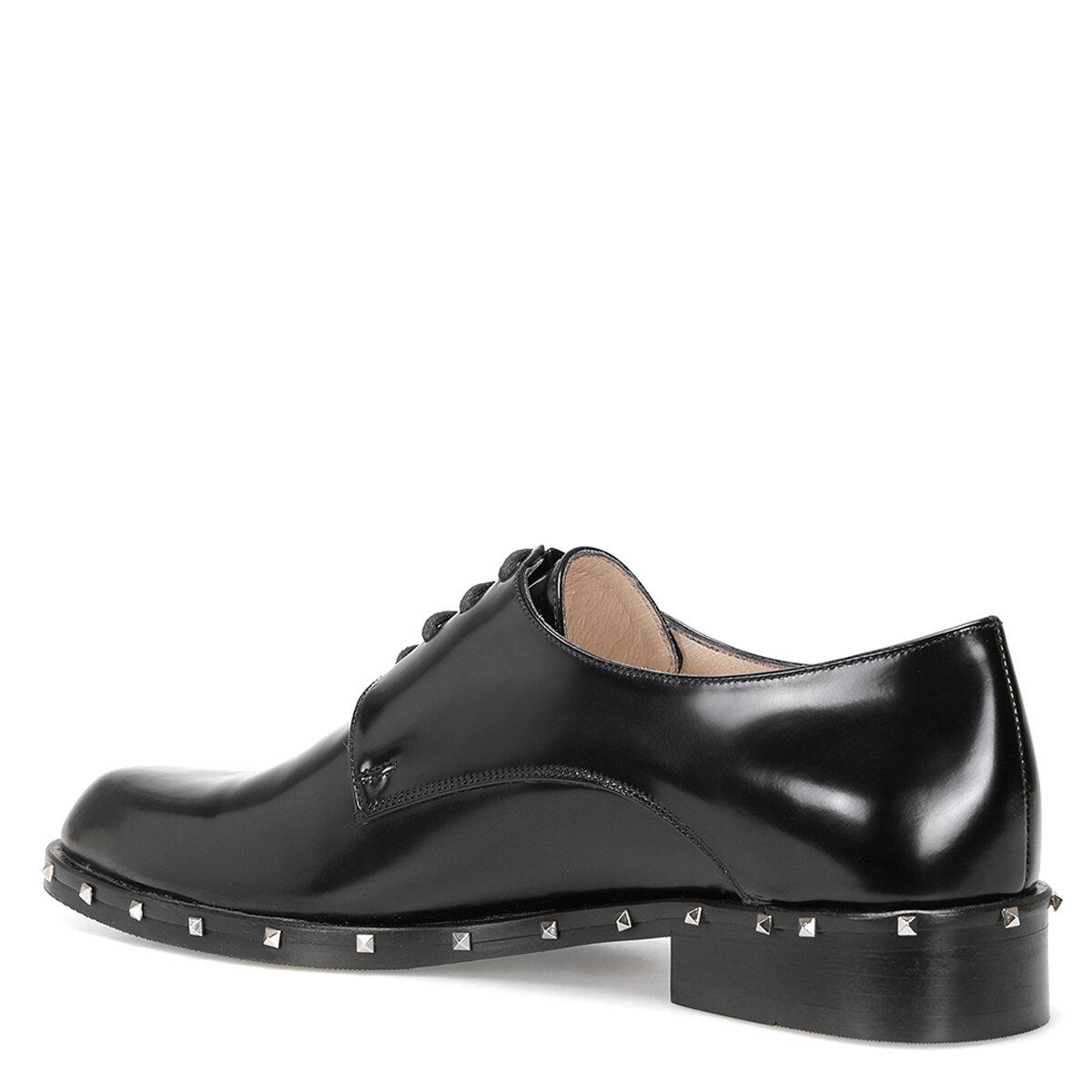 URIMA Siyah Kadın Maskulen Ayakkabı
