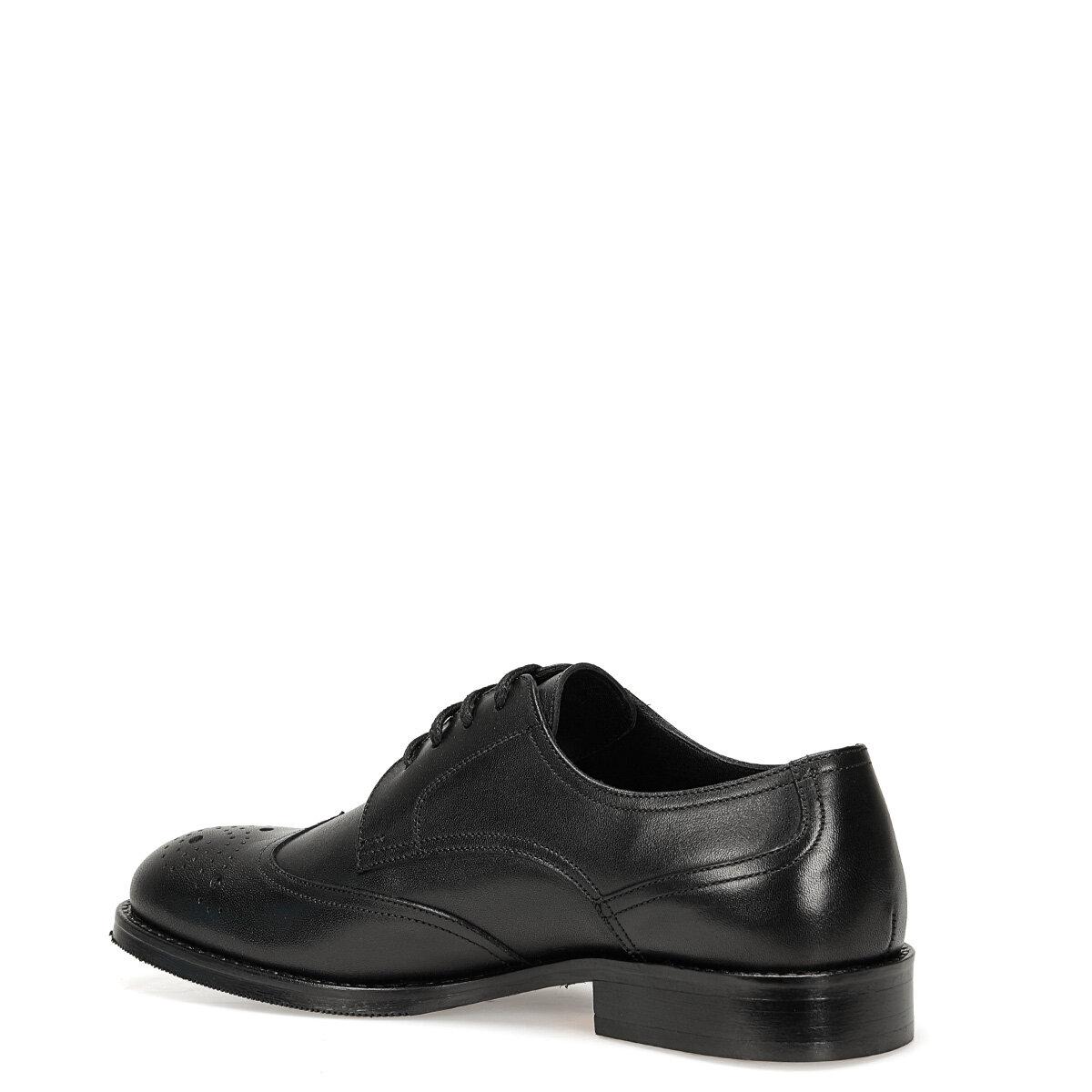 OSRA Siyah Kadın Maskulen Ayakkabı