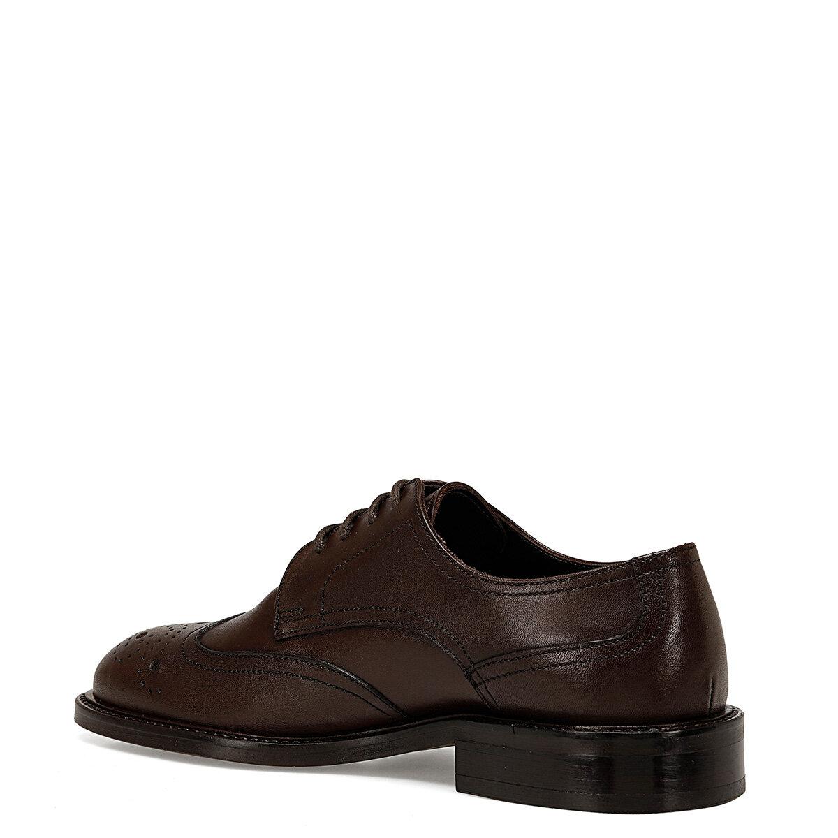 OSRA Kahverengi Kadın Maskulen Ayakkabı