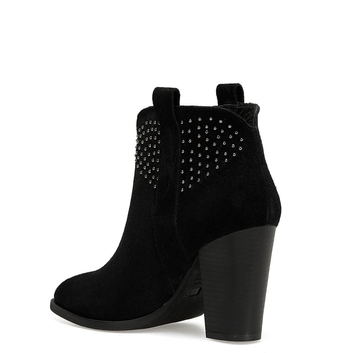 FADA Siyah Kadın Topuklu Bot