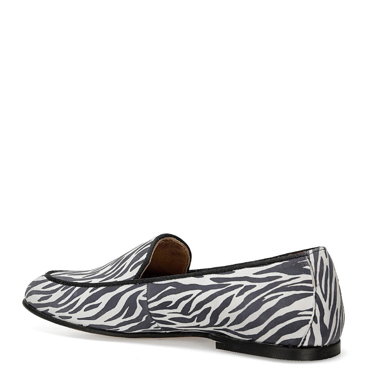 GARME ZEBRA Kadın Loafer Ayakkabı