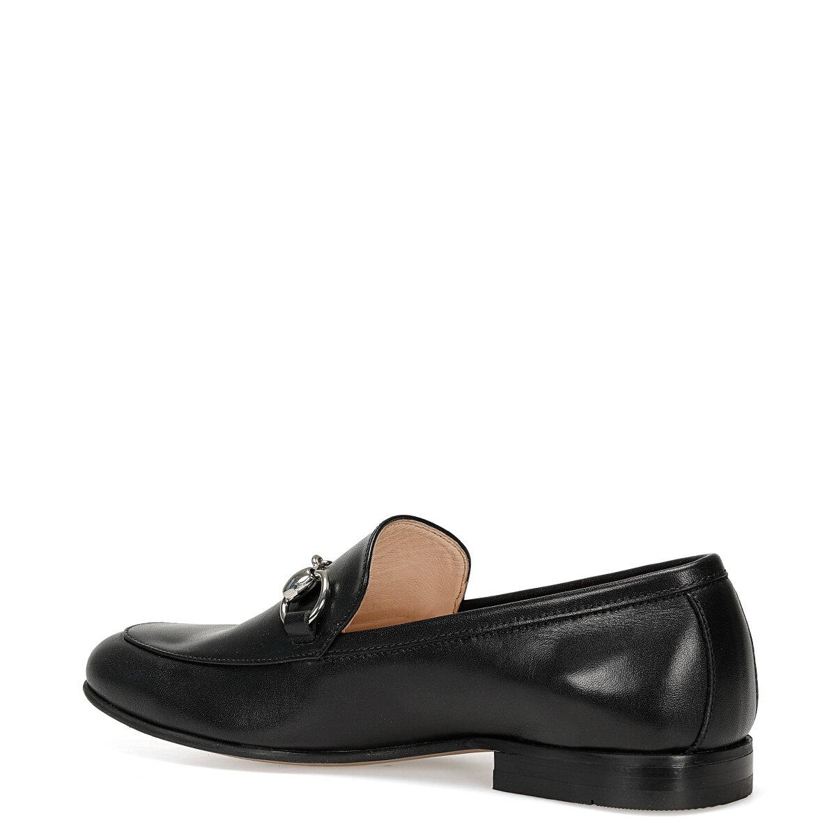GILA Siyah Kadın Loafer Ayakkabı