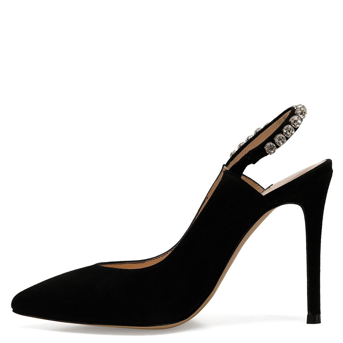 JEWEL Siyah Kadın Stiletto