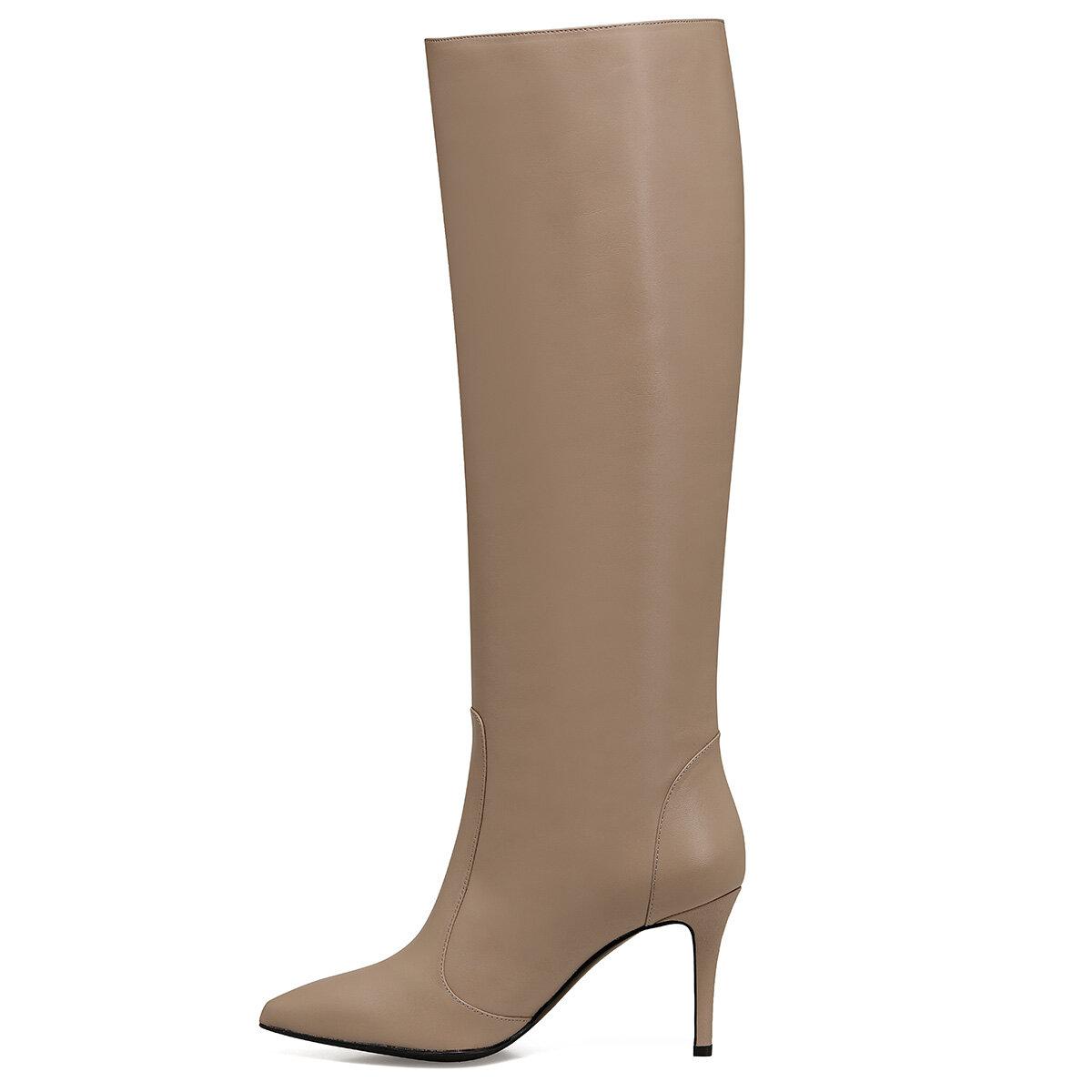 TERRA Naturel Kadın Topuklu Çizme